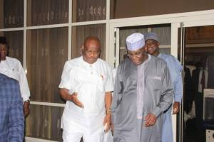 PDP Leaders, Governors Meet At Government House In Port-Harcourt. (Photos)