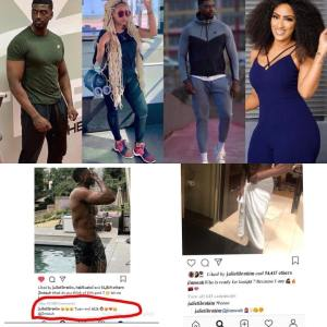 32-Year-Old, Juliet Ibrahim Stalking One Of The Kupe Boys On Instagram Page