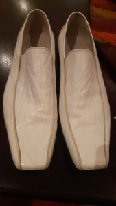 Check Out The Shoes My Aunt In UK Sent Me – South African Man (Photo)