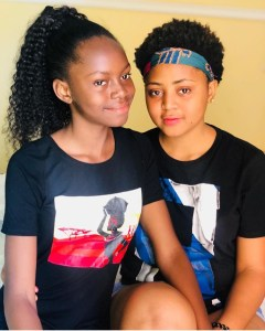 Actress, Regina Daniels With Her Younger Sister (Photos)