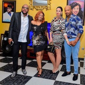 E-money And Wife With Ik Ogbonna And Wife (PHOTO)