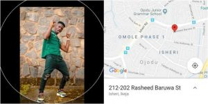 Man Uses App To Locate The Address Of Policeman That Extorted Him In Lagos (Photos)