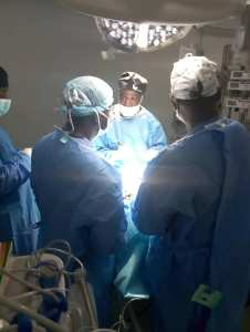 First Brain Surgery Conducted At Buhari Specialist Hospital In Kano. (Photos)