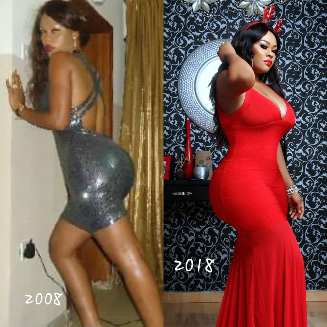 "#10YearChallenge: ""They said we did yansh surgery"" - Daniella Okeke throws shade at doubters"