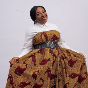 Veteran Actress, Patience Ozokwor Wows In Ankara Maxi Gown
