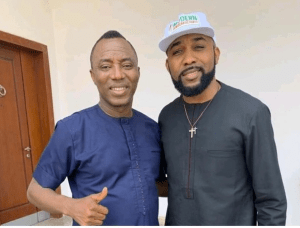 Sowore And Banky W Meet (Photos)