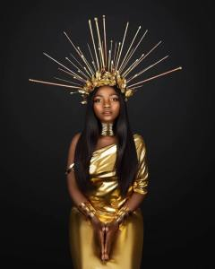 Simi and Yemi Alade rock Egyptian attires in new photos