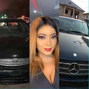 , Actress, Habibat Jinad acquires two new cars at the same time (Photo), Effiezy - Top Nigerian News & Entertainment Website