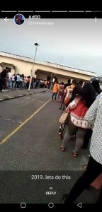 #Bbnaija 2019: Crowds Storm Enugu Audition Ground As Early As 6am (Photos)