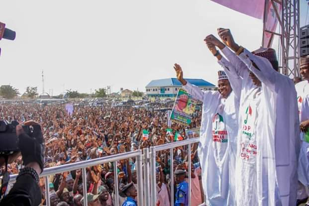 , Photos From PDP Presidential Campaign Rally In Zamfara State (Photos), Effiezy - Top Nigerian News & Entertainment Website