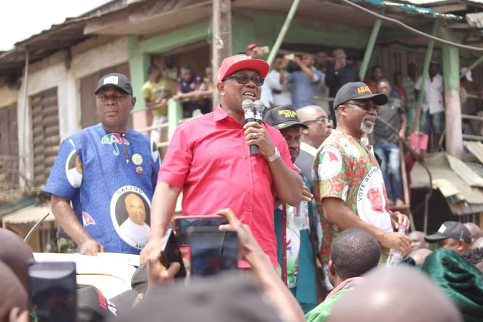 , Peter Obi Campaigns At Ariaria Market, Aba (Photos), Effiezy - Top Nigerian News & Entertainment Website