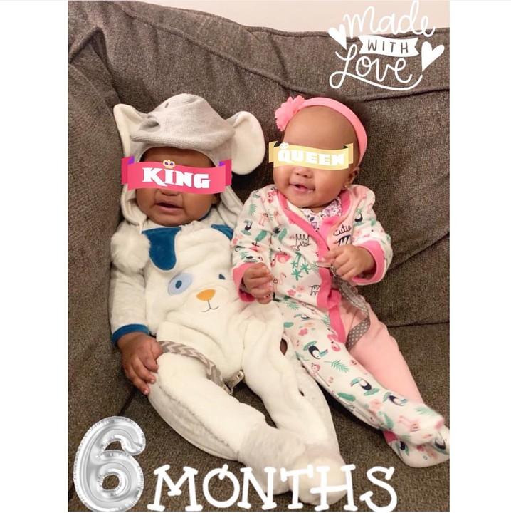 """, """"Being a mother isn't easy""""- Emma Nyra says as she shares picture of her twins at 6 Months, Effiezy - Top Nigerian News & Entertainment Website"""