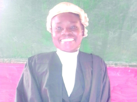 , Deaf Lady Graduates With Second Class Upper In Law (Photo), Effiezy - Top Nigerian News & Entertainment Website