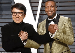 Chris Tucker and Jackie Chan prepare for Rush Hour 4 movie