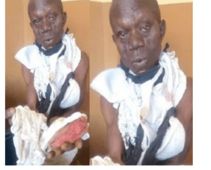 , Man apprehended with female pants, says a prophet sent him to steal them for money rituals, Effiezy - Top Nigerian News & Entertainment Website