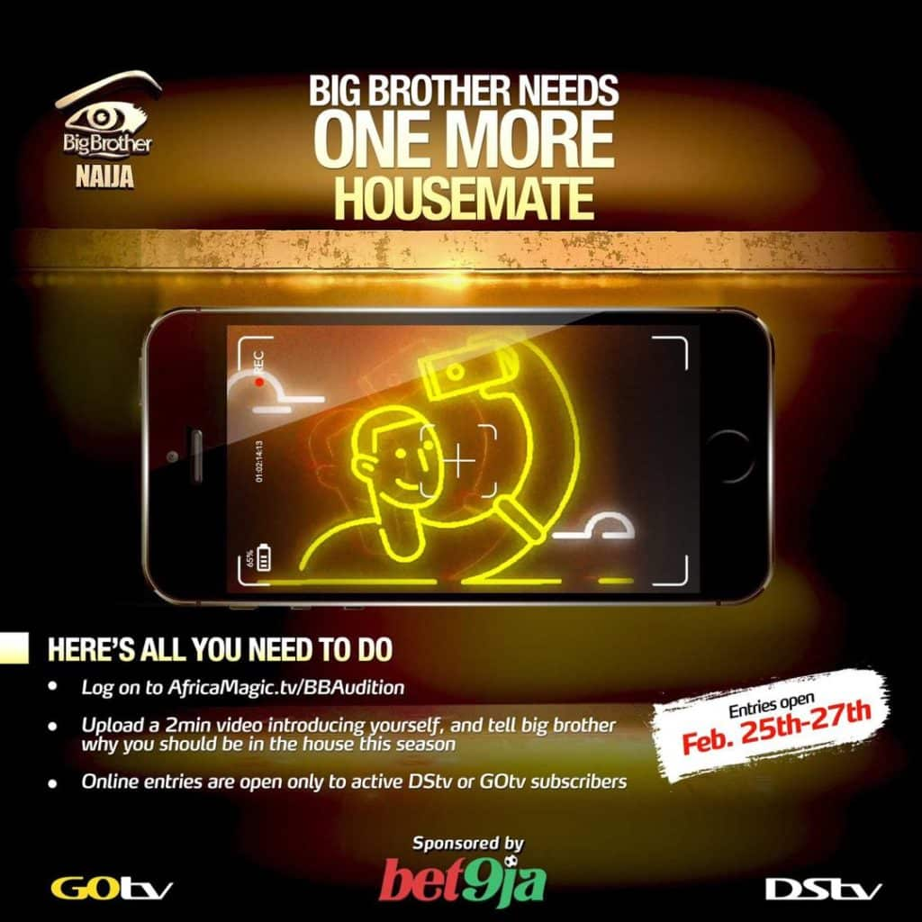 , Viewers will vote a housemate into Big Brother Naija 2019, Effiezy - Top Nigerian News & Entertainment Website