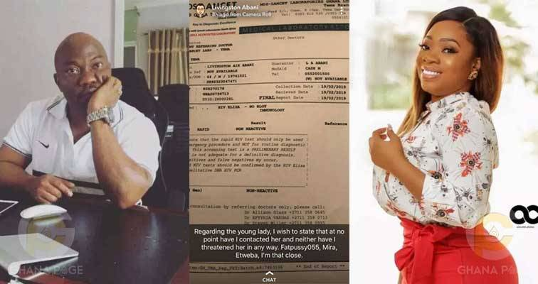 , Man Accused of Infecting Moesha Budong Shares HIV Test Result (Photos), Effiezy - Top Nigerian News & Entertainment Website