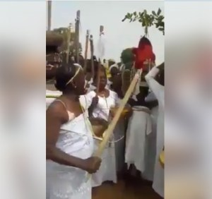 #VIDEO: Witches Association Endorse President Buhari For Second Term