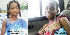 Girl reunites with family 5 years after going missing in Lagos state (Photos)