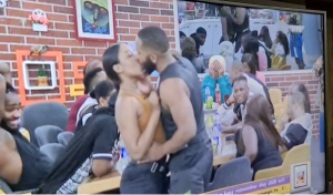 BBNaija 2020: Kiddwaya kisses Erica passionately says he likes her. (Video)