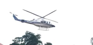 Anambra Police Command Receives A New Surveillance Helicopter.