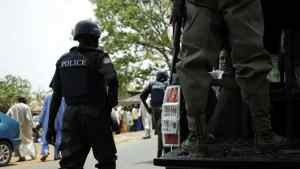 Police arrest 2 officers for harassing a young lady.
