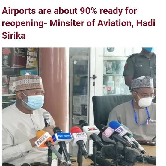 , Physical Distancing impossible on flights – Hadi Sirika, Effiezy - Top Nigerian News & Entertainment Website