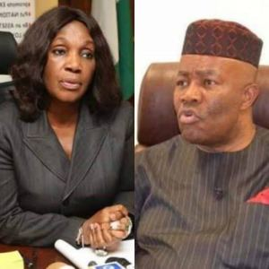 Wike Rescues Ex-NDDC MD Nunieh from police, moves her to Government House.