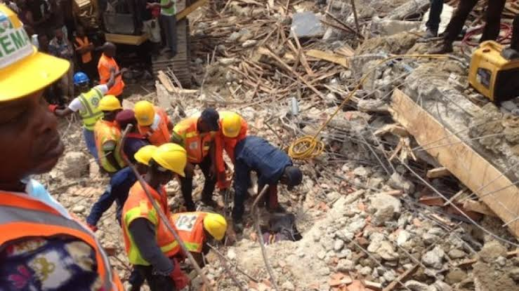 , My family escaped death by whiskers – Victim of collapsed 3 story building, Effiezy - Top Nigerian News & Entertainment Website