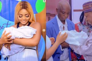 Regina Daniels holds naming ceremony for son.