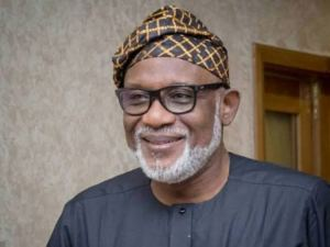 Akeredolu Recovers, test negative for covid-19