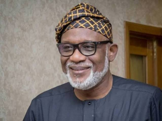 , Akeredolu Recovers, test negative for covid-19, Effiezy - Top Nigerian News & Entertainment Website