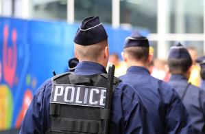 Man arrested for killing wife in France.