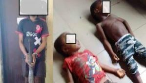 Man arrested for allegedly keeping fifteen children in chains in Niger.