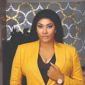 Angela Okorie gets engaged to lover.