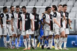 Juventus win ninth Serie A title in a row.