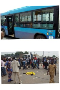 BRT Vehicle Crushes Man To Death In Lagos