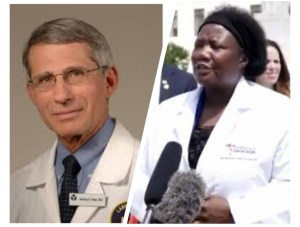 """""""Hydroxychloroquine cannot cure Covid-19"""" says Fauci American doctor."""