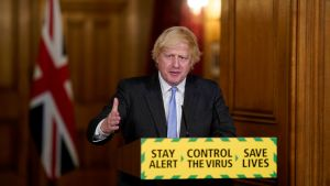 UK's Prime Minister Boris Johnson launches mass testing programme as economy reopens