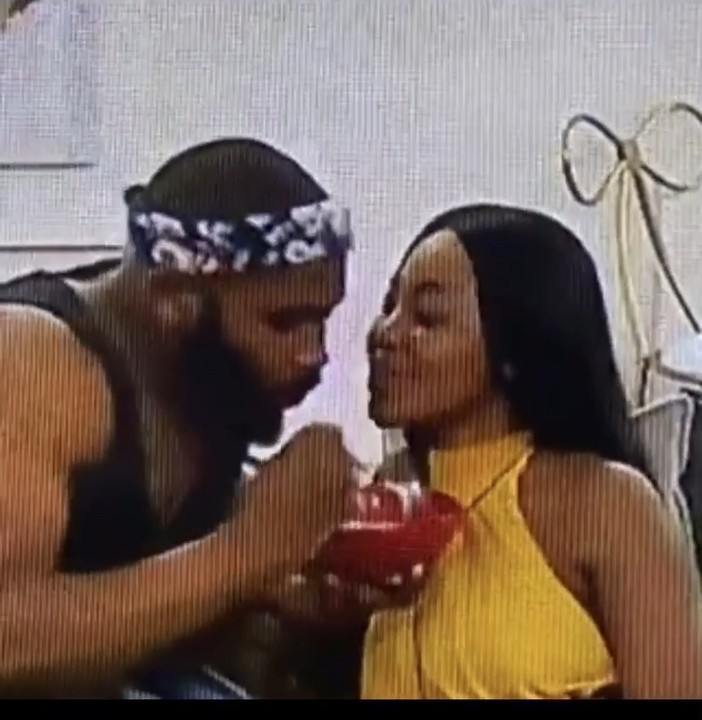 Erica & Kiddwaya Caught Kissing Hours After She Called Off Their Relationship