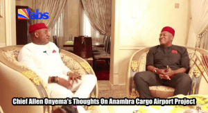 , Air Peace airlines chairman, Allen Onyeama shares his thoughts on Anambra International Cargo Airport (Video), Effiezy - Top Nigerian News & Entertainment Website
