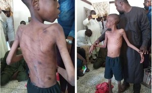 13-years-old old get rescued after being abused by parent (Video)