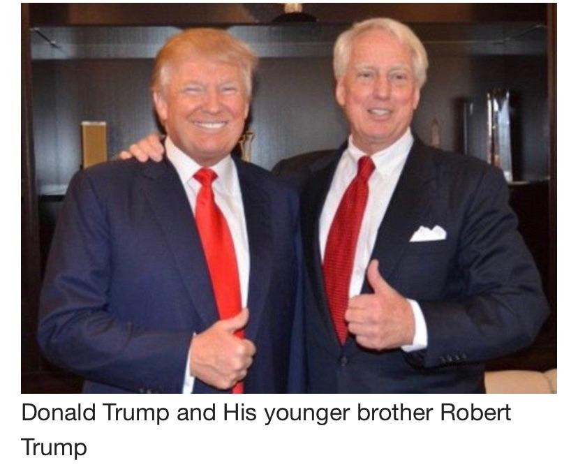 Trump younger brother Robert Trump dies at 71
