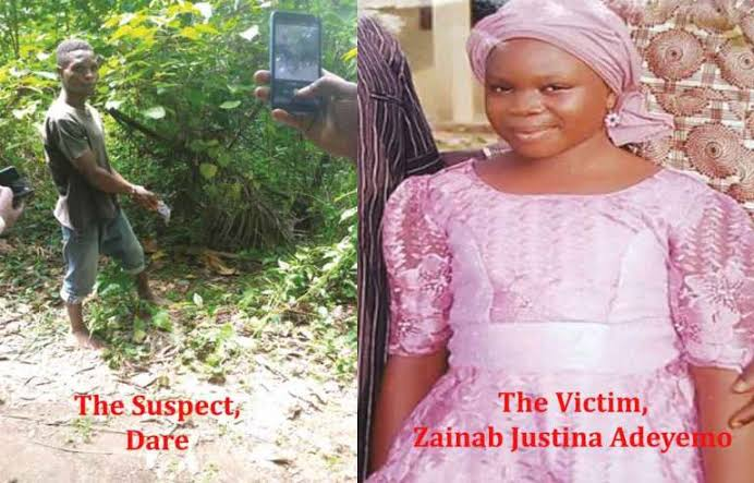Bike Man Allegedly rape and Kills a 12 Year old Girl in Ondo State