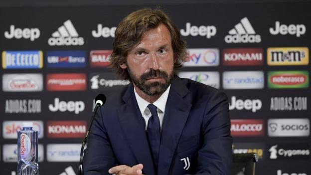 Juventus appoint Pirlo to replace Sarri as manager