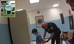 Shocking video shows 8 years boy with special needs being Handcuff at his elementary school