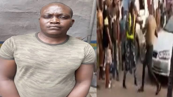 I am a dismissed soldier': Man who beats up policewoman confesses (Video)