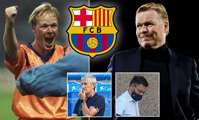 Barcelona appoint Ronald Koeman as new coach