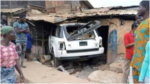 SUV Rams into building, 2 dead, several injured
