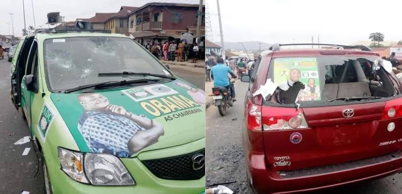 Many injured, property vandalized as APC, ADC supporters clash ahead of Ondo council poll
